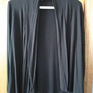 Front of Closet Black Cardigan
